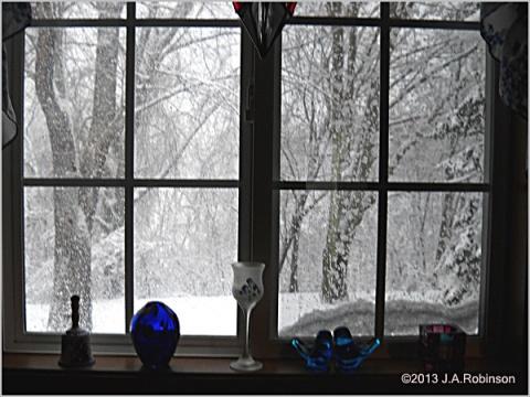 2013_02_25 Snowy Kitchen Window