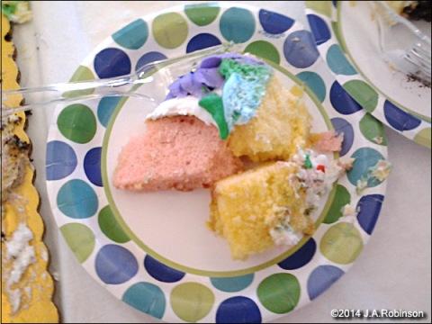 2014_09_18 Cake Pieces