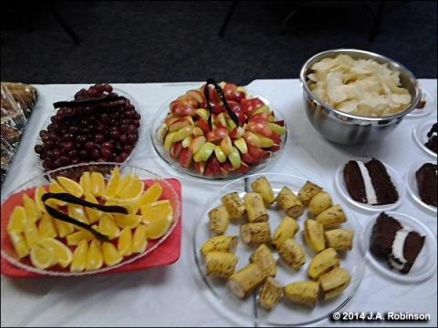 Luncheon Fruit