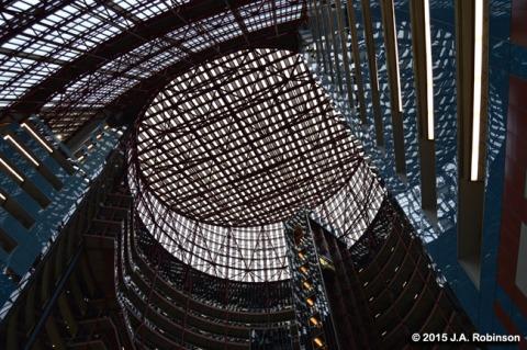Thompson Center Atrium Ceiling_Chicago