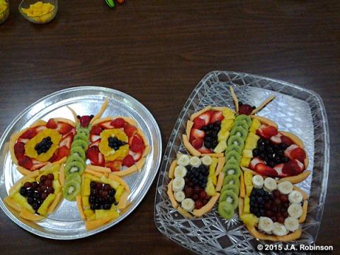 Butterfly Fruit Trays
