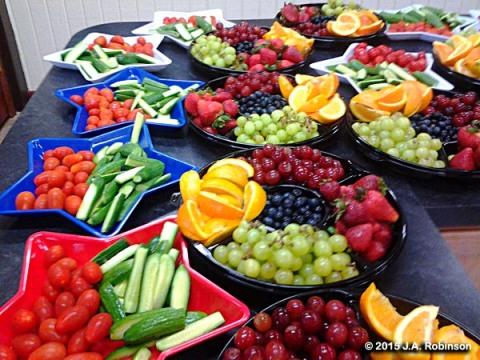 Good Fruit Display
