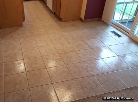 2015_10_30 Kitchen Floor