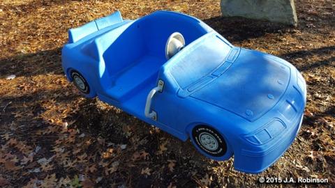 2015_11_20 Southside Park Toy Car