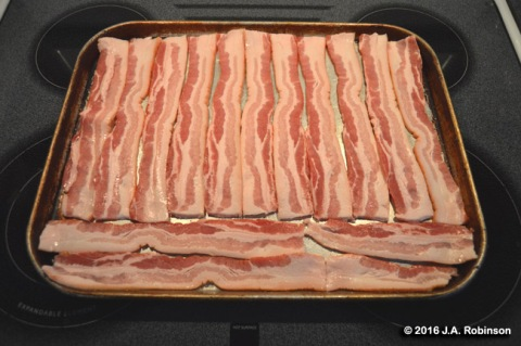 Bacon before Baking