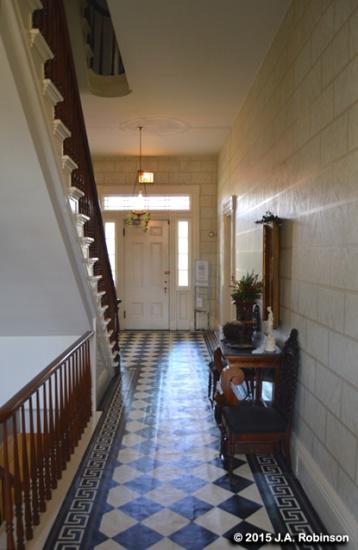 Clarke House Entrance Hall