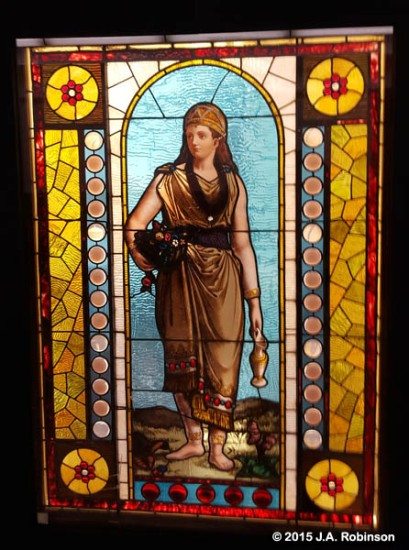 Stained Glass Woman