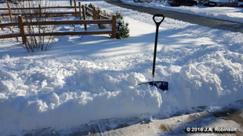 2016_02_08 Snow Shovel