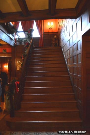Glessner House Stairway