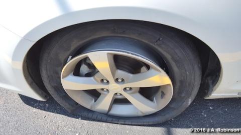 2016_08_19 Flat Tire
